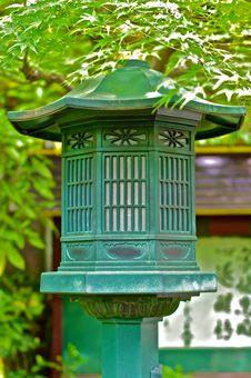 Free Single Lantern In A Shinto Temple Stock Photos - 14408343