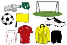 Free Soccer Icons Stock Images - 14408574