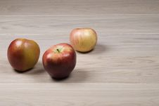 Free Three Apples Stock Photo - 14408600