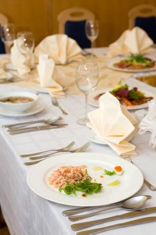Free Banquet Table Stock Photography - 14408612