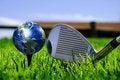 Free Earth - Like A Golf Ball Royalty Free Stock Photos - 14410728