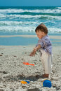 Free Child On A Beach Royalty Free Stock Images - 14412349