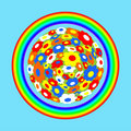 Free Rainbow Royalty Free Stock Photography - 14416197
