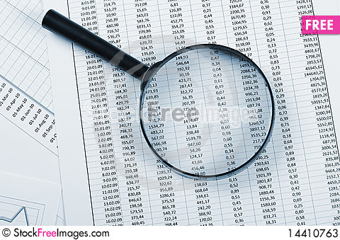 Free Charts And Graphs Of Sales Stock Photos - 14410763