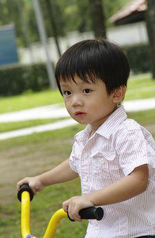 Free Cute Asian Boy Royalty Free Stock Photos - 14410278