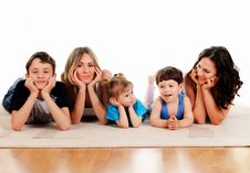 Free Children And Parents Stock Photo - 14410780