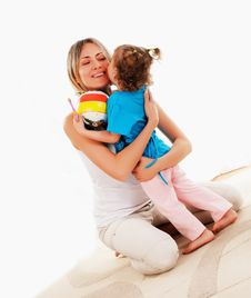 Free Mother And Her Young Daughter Stock Image - 14410791