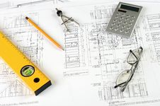 Free Drawings Of Building Stock Photo - 14410800