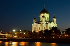Free Moscow. Temple Of Christ The Savior Stock Image - 14410811