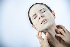 Moisturize Royalty Free Stock Photo