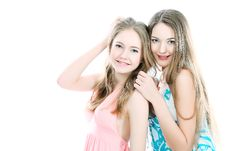 Free Sisters Royalty Free Stock Images - 14411469