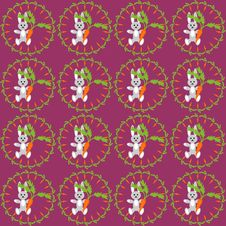 Free Background With Hares Stock Photography - 14411882