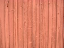 Free Red Timber Wall Stock Photo - 14411910