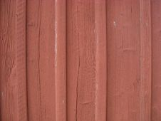 Free Red Timber Wall Stock Photo - 14411930