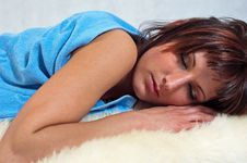 Free Girl Sleeping Stock Images - 14411934