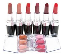 Free Lipstick Stands In Row Royalty Free Stock Photos - 14412258