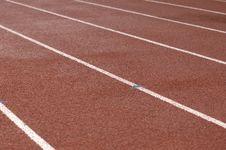Free Running Track Royalty Free Stock Photos - 14413418