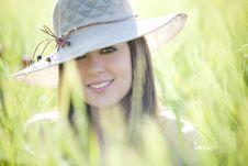 Beautiful Girl Portrait Royalty Free Stock Photo