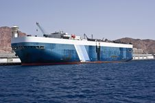 Free Cargo Ship Royalty Free Stock Photo - 14415095
