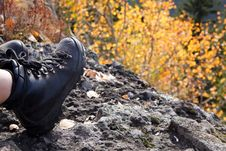 Free Climbing Boots Stock Image - 14415221