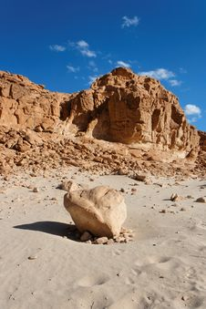 Rocky Desert Landscape Royalty Free Stock Images