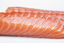 Free Raw Salmon Steak Royalty Free Stock Photography - 14415687