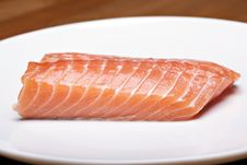Free Raw Salmon Steak Stock Photos - 14415693