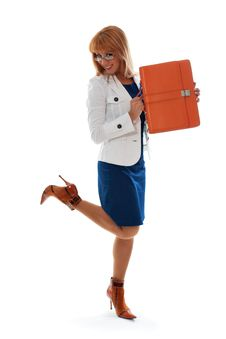 Smiling Woman Businesswoman Stock Photography