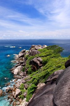 Free Andaman Coast Royalty Free Stock Images - 14416279