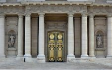 Free Main Entrance Of Les Invalides, Paris Stock Photography - 14416642