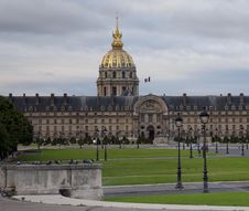 Free Les Invalides Early Morning Stock Photos - 14416663