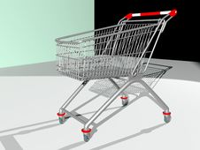 Free Shopping Cart Stock Image - 14416711