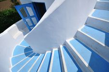 Free Gyrate Stair Royalty Free Stock Image - 14416776