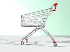 Free Shopping Cart Stock Photos - 14417113