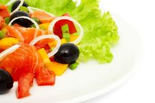 Free Vegetable Salad Royalty Free Stock Photos - 14417298