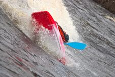 Free Freestyle On Whitewater Stock Image - 14417761