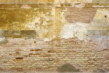Bricks Wall Royalty Free Stock Photo