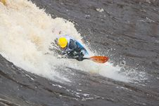 Free Freestyle On Whitewater Stock Images - 14417944