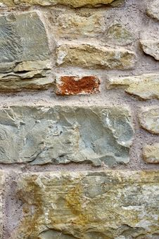 Free Stone Wall Royalty Free Stock Photo - 14417945