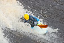 Free Freestyle On Whitewater Stock Image - 14417981