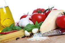 Basic Pasta Royalty Free Stock Images
