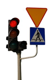 Free Traffic Light Royalty Free Stock Photography - 14419817