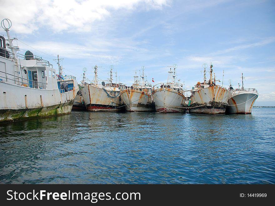 Fishing schooners