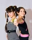 Free Two Fun Teen Girls Royalty Free Stock Image - 14425796