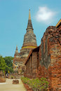 Free Ancient Stupa Of Buddha In Thailand Royalty Free Stock Photo - 14426235