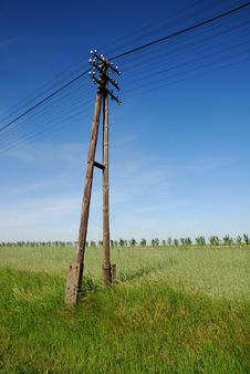 Free Power Lines Royalty Free Stock Images - 14420239