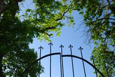 Free Iron Gate Stock Photography - 14420352
