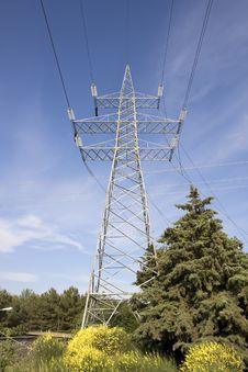 Free Electricity Pylon Stock Photo - 14420620