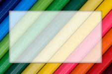Multicolor Pencils Stock Photography