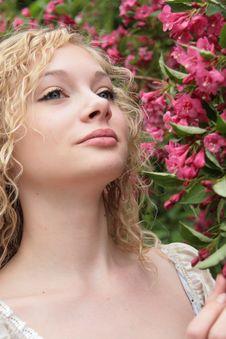 Free Blond Girl Royalty Free Stock Image - 14420866
